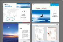企业画册排版设计源文件