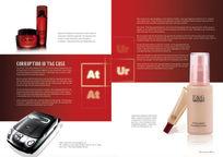 欧美化妆品版式画册PSD分层模板