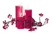 psd蜡烛樱桃