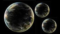 地球平面设计PSD源文件