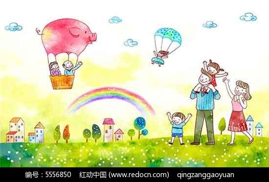 六一儿童节主题画PSD海报素材免费下载 编号5556850 红动网