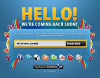 个性网站搜索框PSD素材