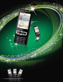 诺基亚N95手机宣传海报