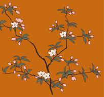 植物装饰背景底纹(3)