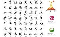 2010广州亚运会体育图标