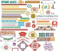 中国传统古典精品花纹1