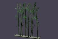 3D竹子max格式模型02