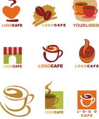 矢量咖啡相关元素