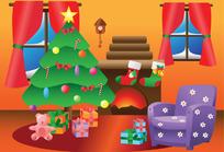 室内圣诞装饰