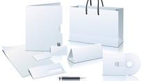 空白企业VI应用元素矢量素材