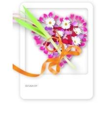 情人节-心型玫瑰花瓣