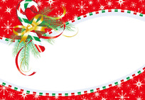 红色的圣诞矢量素材