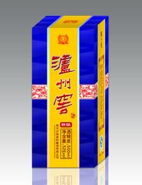 泸州窖白酒包装盒