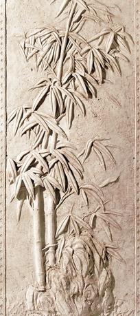 竹浮雕图片