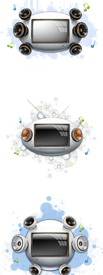 网页电视背景时尚元素17