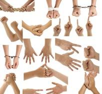 各种手势图片素材