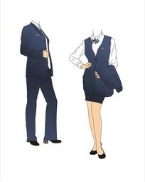 VI手册模板-员工服装