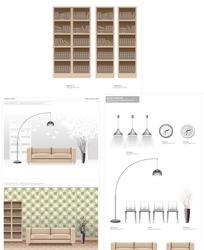 室内家具布置素材