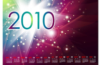 2010炫光日历