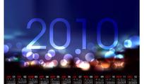 2010炫光日历设计