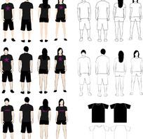 VI视觉系统之服装