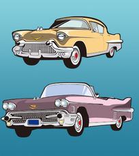 怀旧轿车2款