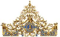 皇冠花纹图案