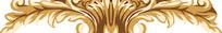 金色欧式花纹图案
