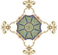 欧洲古典花纹