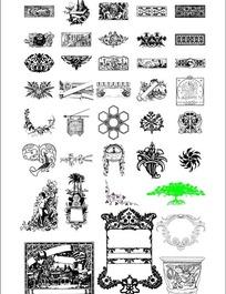 西方古典文饰