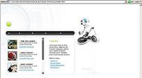 个人设计工作室Flash网站