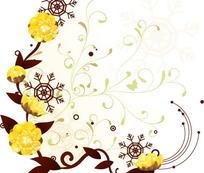 精美时尚花卉图案