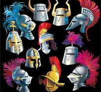 古代武士头盔