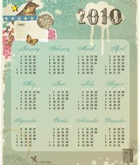 2010挂历