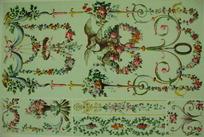 欧洲古典装饰花纹