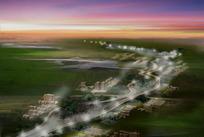 嘉义城市公路规划效果图
