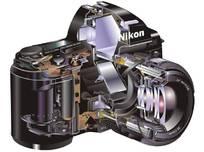 nikon相机内部结构剖面图