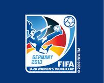 世界20岁以下女足世界竞标赛矢量标志