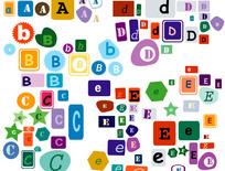 可爱字母1