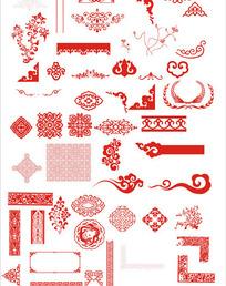 中国古典精品花纹