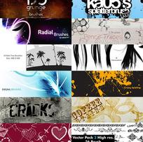 12组奇妙的Photoshop笔刷(12 Fantastic Sets)