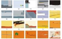 横式矢量封面设计模板下载