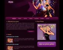 时尚女人网页模板(html格式)