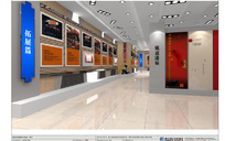 室内展厅效果图模型
