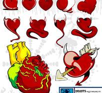 心脏矢量素材