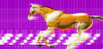 工业科技图 3D立体马 三维立体动物