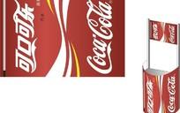 可口可乐促销点POP展架