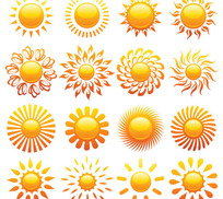 太阳矢量图