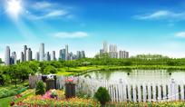 城市公园风景