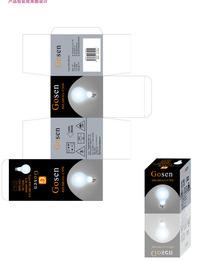电灯包装效果图
